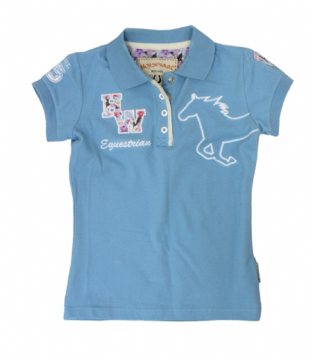 Horseware Pique Polo Shirt - Childs Age 3-4